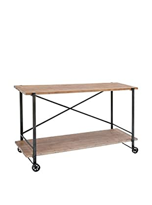 Console Table, Brown
