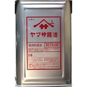 【クリックで詳細表示】ヤマサ濃口醤油 テンパット缶 18L