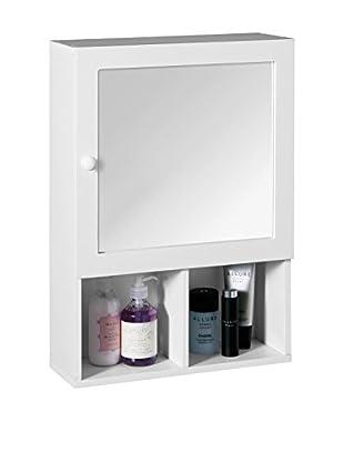 Premier Housewares Spiegelschrank 2401408 weiß
