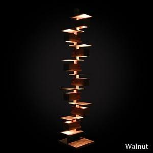 フランク・ロイド・ライト TALIESIN3(タリアセン) MIDIUMサイズ フロアーライト ウォールナット