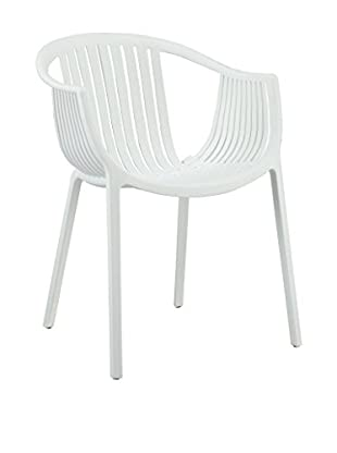 Modway Hammock Dining Arm Chair, White