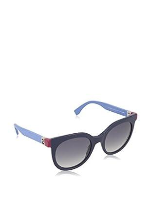 Fendi Gafas de Sol 0129/S DG_MJ4 (51 mm) Azul