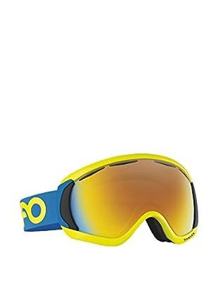 OAKLEY Skibrille OO7047-14 gelb/blau