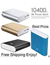 Mi Power Bank 10400mAh-compatible with smartphones&tablets-Mi 3,Apple,Samsung,HTC etc