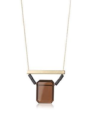 David Aubrey Smoky Quartz Pendant Necklace