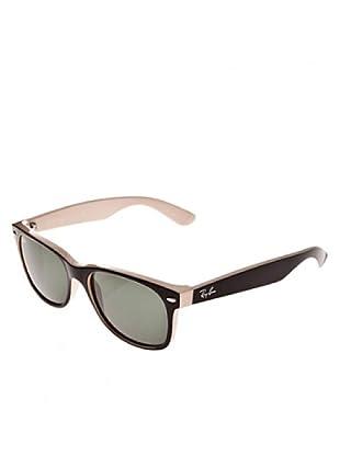 Ray Ban Sonnenbrille Wayfarer 875 schwarz/beige 55