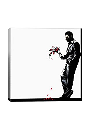 Banksy Waiting In Vain At The Door Of The Club #2 Giclée On Canvas