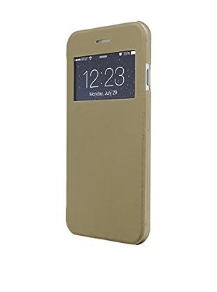 UNOTEC Funda Flip-S iPhone 6 Plus / 6S Plus / 6S Plus Dorado