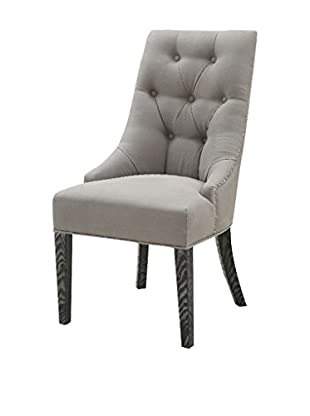 Armen Living Centennial Dining Chair, Grey