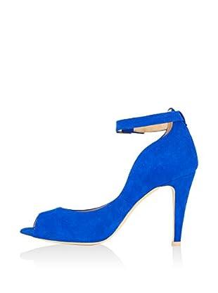 Laura Moretti Zapatos peep toe