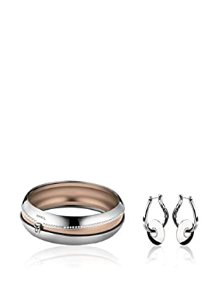 BREIL JEWELS Set Armreif und Ohrringe Secretly - 6.5 cm
