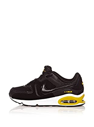 Nike Zapatillas Air Max Command (Ps) (Negro / Amarillo)