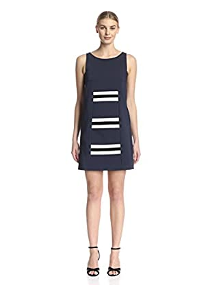 Beatrice B Women's Dress with Front Stipe Detail