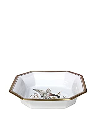 Gucci Ashtray with Duck Pattern, White/Yellow/Brown