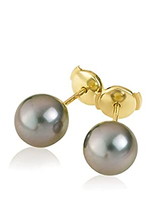 Manufacture Royale des Perles du Pacifique Ohrringe  schwarz