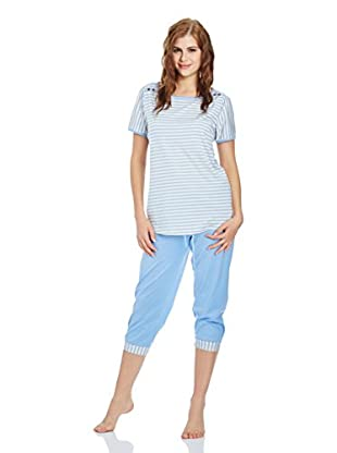 Calida Pyjama Pure Shores