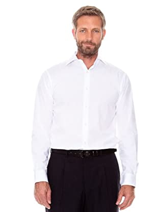 Cortefiel Camisa Popelín (blanco)