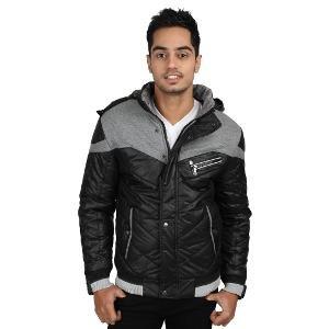 Jogur Men's Jacket - Black & Grey
