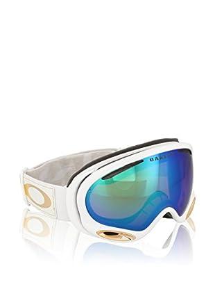 Oakley Máscara de Esquí A-Frame 2.0 Mod. 7044 Clip Lv Sig. Blanco / Dorado