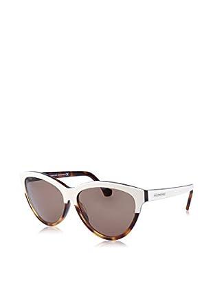 Balenciaga Sonnenbrille BA0029 14 140 24J (59 mm) elfenbein/havana