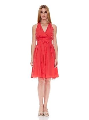 Naf Naf Vestido Thérèse (Rojo)