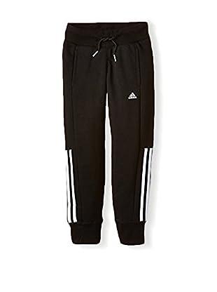 adidas Pantalone Felpa Hose Essentials Mid 3-Stripes Closed Hem
