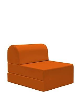13 Casa Bettwürfel Petra 7 orange