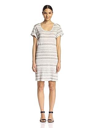 Velvet by Graham & Spencer Women's Striped T-Shirt Dress