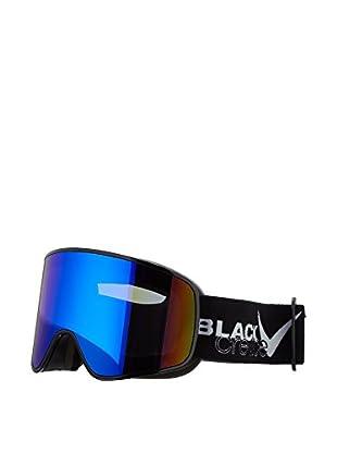 Black Crevice Skibrille Planai schwarz/weiß