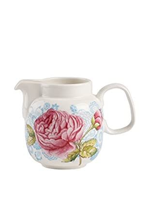 Villeroy & Boch Rose Cottage 11-Oz. Creamer, Pink/White