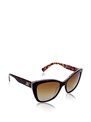 Dolce & Gabbana Gafas de Sol Polarized 4216 2790T5 (55 mm) Negro