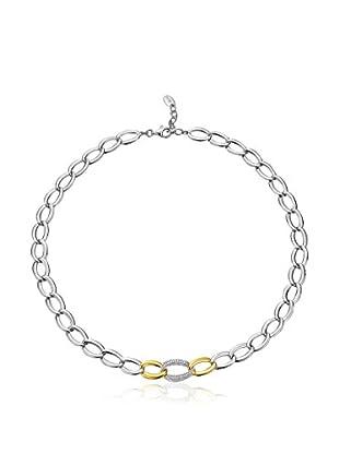 Esprit Collar Braid Glam plata de ley 925 milésimas / Dorado