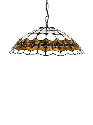 SULION Lámpara De Techo Tiffany MARRON/OCRES
