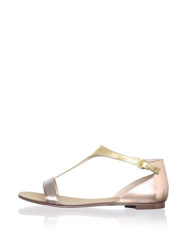 Boutique 9 Women's Piraya Sandal (Dark Silver Multi)