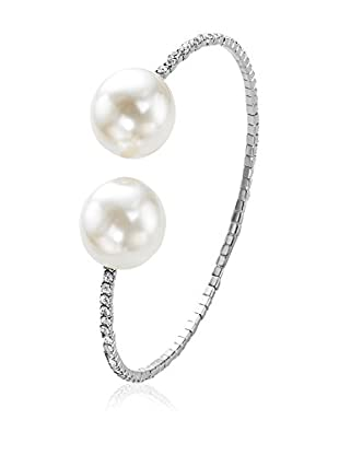 Face Me Armband Crystal & Pearls