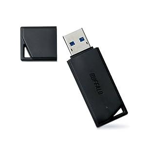 BUFFALO USB3.0/2.0用 USBメモリー ブラック 16GB RUF3-K16G-BK