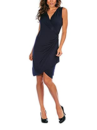 Bleu Marine Kleid Angie
