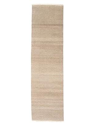 Darya Rugs Modern Oriental Rug, Beige, 2' 8