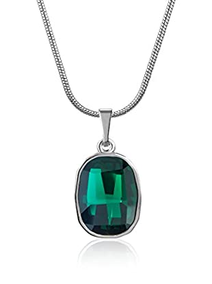 Absolute Crystals Set Kette und Anhänger Graphic Fancy smaragd