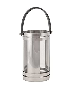 Chandler Small Stainless Lantern, Silver