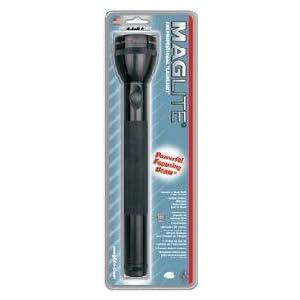 Maglite Flashlight 4 Cell D Mag (Black)
