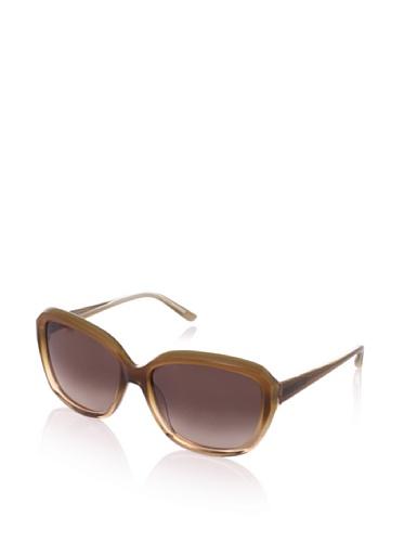 Theory Women's TH2131 Sunglasses, Caramel