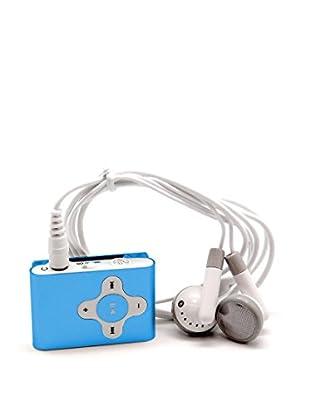 Unotec Mp3 Clip Azul Mod.23.0021 Con Slot Microsd