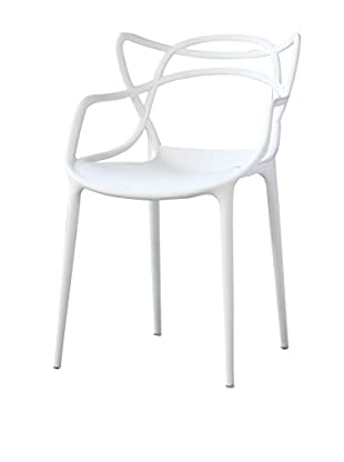 Manhattan Living Brand Dining Chair, White