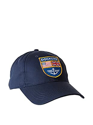 Dockers Cap Navy Bball Cap Flag Patch