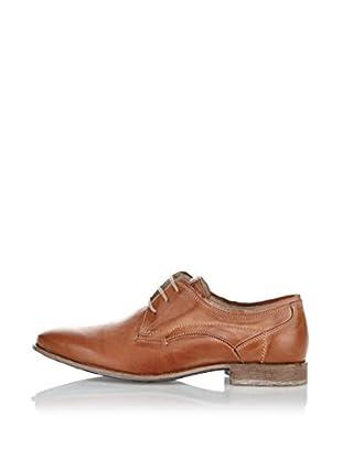 Fretz Men Zapatos Derby Sebastian (Caramelo)