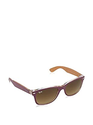 Ray-Ban Sonnenbrille 2132 _619285 NEW WAYFARER (55 mm) violett/orange