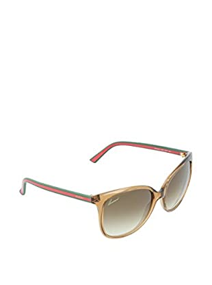 Gucci Sonnenbrille 3649/SCC170 beige / rot 56 mm