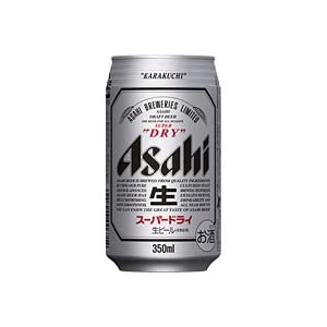 アサヒ スーパードライ 350ml×24本