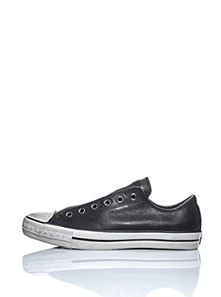 Converse Zapatillas A / S Varvatos Slip Leather Vin Ox (Negro)
